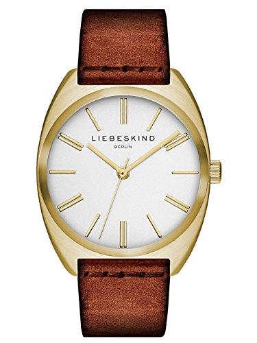 Liebeskind Berlin Damen-Armbanduhr Vegetable Analog Quarz Leder LT-0058-LQ
