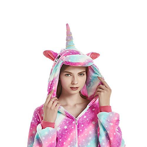 (NN IKEA Karneval Halloween Pyjamas Schlafanzug Mit Kapuze Erwachsene Cosplay Kostüm Erwachsene Unisex,Natural,S)
