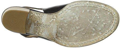 Gabor Shoes - Gabor, sandali da donna Nero(Schwarz (schw.(Sohle natur)))