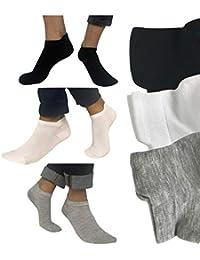 Calcetines tobilleros hombre mujer 6 pares Amadeos Casual