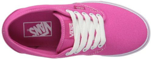 Vans W Atwood, Baskets mode femme Rose (Magenta/White)