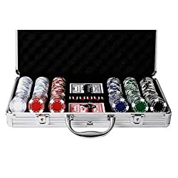 Set Completo 300 Fiches 11,5 Gr Texas Hold Em Clay