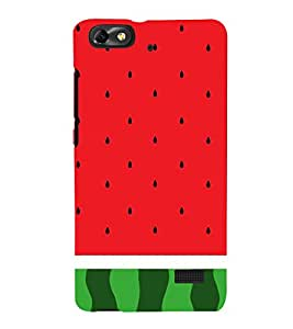 Watermelon Redish 3D Hard Polycarbonate Designer Back Case Cover for Huawei Honor 4C :: Huawei G Play Mini