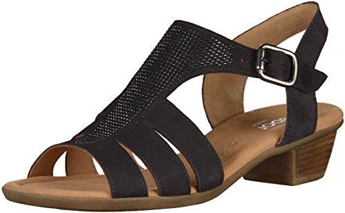 Gabor comfort 42.473.47 Donna Sandali Blu (pazifik (S.ambra))