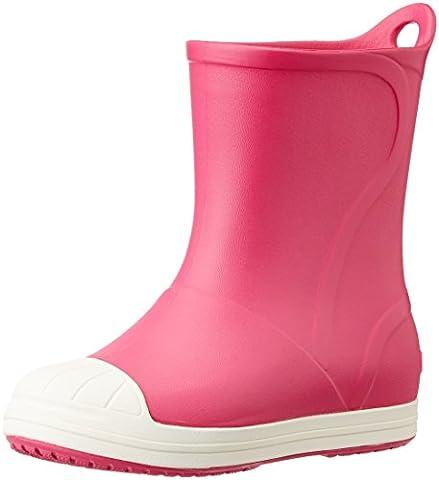 crocs Unisex-Kinder Bumpitbootk Gummistiefel, Pink (Candy Pink/Oyster), 23-24 EU