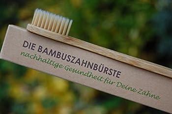 5er Pack Die Bambuszahnbürste - Nachhaltige Gesundheit Für Deine Zähne ✅Vegan ✅Biologisch Abbaubar ✅öKologisch ✅Nachhaltig ✅Bpa-frei ✅Umweltfreundlich ✅Mittlere Borsten 5