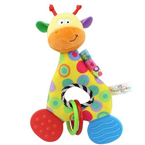 Mitlfuny Unisex Baby Kinder Jungen Zubehör Säuglingspflege,Spielzeug-bunte Baby-Bett-Kinderbett-Kinderwagen-Hängende Spielwaren mit Bell-Baby-Plüsch-Spielzeug - Baby-schuhe Koala Mädchen Für