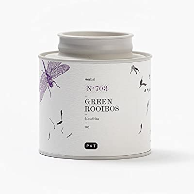 Paper & Tea Green Rooibos - Infusion Premium Bio Rooibos vert South Africa Vrac 80 gr by P&T