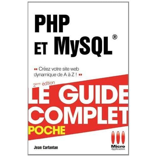 PHP & MySQL by Jean Carfantan(2012-06-01)