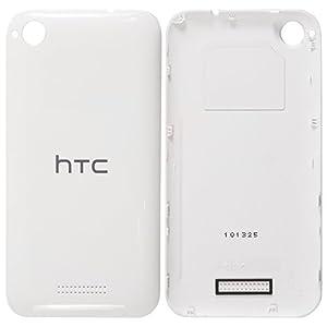 Original HTC Akkudeckel white / weiß für HTC Desire 320 (Akkufachdeckel, Batterieabdeckung, Rückseite, Back-Cover) - 74H02844-09M