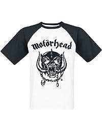 Motörhead Everything Louder Camiseta blanco-negro