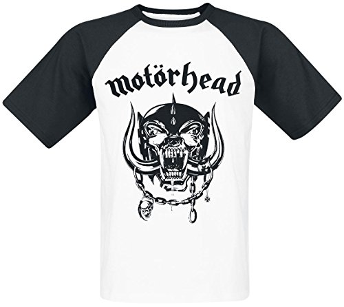 Motörhead Everything Louder Camiseta blanco-negro M