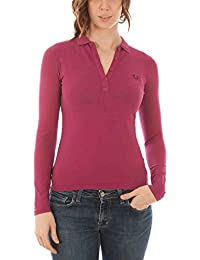 FRED PERRY 31162330 POLO MANICHE LUNGHE Mujer