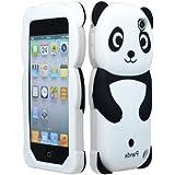 Pour Apple iPod Touch 5 5ème génération Panda gelée de silicone de peau de cas de couverture Accessoire Noir