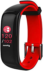 Hammer Pro Multifunctional Red Fitness Band and Activity Tracker Unisex Band Watch - Fit Pro