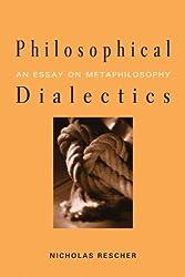 Philosophical Dialectics: An Essay on Metaphilosophy