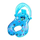 Swimming Ring For Kids Mother And Baby With Removable Safety Inflatable Sunshade Canopy