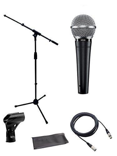 namisches Vocal Mikrofon Paket mit Boom Ständer und XLR-Kabel ()