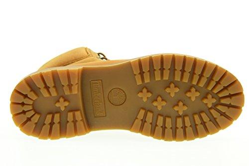 Timberland Women s 6  Premium A19S5 Nubuck Leather Boot Tonal Marigold-Brown-6