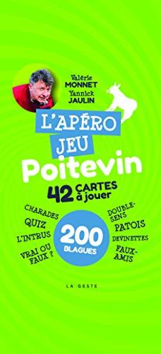 L'Apero Jeu Poitevin - 42 Cartes a Jouer par Monnet Valerie - Jaulin Yannick