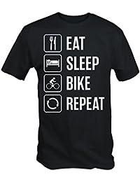 Eat Sleep Bike Repeat T Shirt