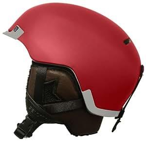 SALOMON - casque de ski - salomon hacker red 15 - 58/59