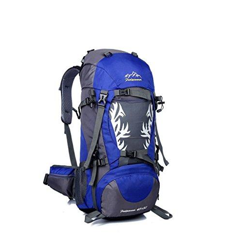 La nuova fiamma sacchetto di alpinismo di campeggio esterno dello zaino di guida impermeabile pacchetto professionale blu