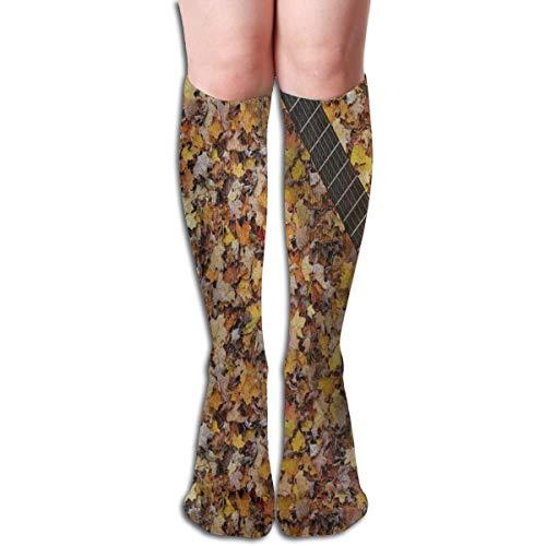 Socks Halloween Skull Tree Candle Bald Tree Cool Womens Stocking Decor Sock Clearance For ()