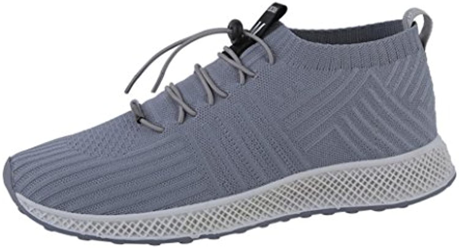 vemow sports hommes chaussures hommes sports femmes, formateurs flats tongs strings espadrilles wedge en marchant, chaussettes... 8f3570
