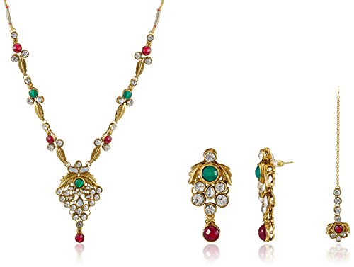 Ava Jewellery Set for Women (Multi-color) (S-VS-6021)