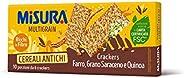 Misura Crackers ai Cereali Multigrain, Farro, Grano Saraceno e Quinoa, 350g