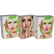 Capas desechables tinte en estuche dispensador de 50 unidades, para peluquería.