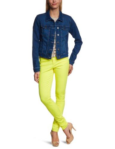 Vero Moda - Cappotto Moda, Manica lunga, Donna, blu (Blau (DENIM Wash:MED. BLUE)), XS