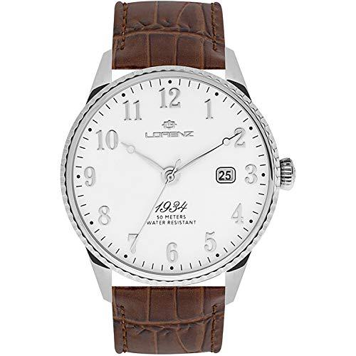 orologio solo tempo uomo Lorenz 1934 trendy cod. 030102AA