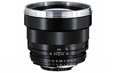 Carl Zeiss 85 mm / F 1,4 PLANAR T* ZF Objektiv ( Nikon F-Anschluss )