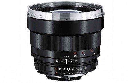 Carl Zeiss 85 mm / F 1,4 PLANAR T* ZF Objektiv ( Nikon F-Anschluss ) (85 Festbrennweite Nikon)