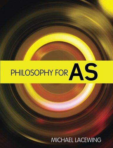 Philosophy for as: 2008 Aqa Syllabus