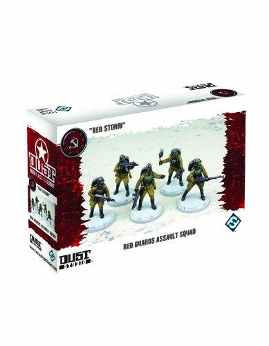 Dust Tactics: Red Guards Assault Squad