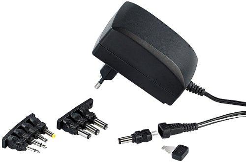 reVolt 3 Volt Netzteil: 230V-Universal-Schaltnetzteil 2.250 mA, umschaltbar 3-12 V (230 V Netzteil)