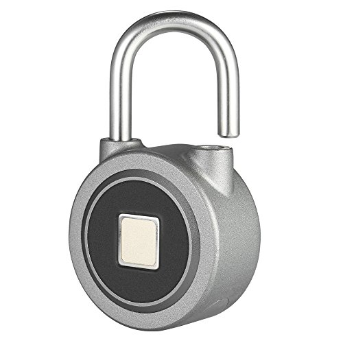 Festnight Fingerprint Padlock Bi...