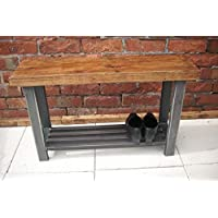 Red Cottage Furniture Shoe rack bench with storage to base hallway bench