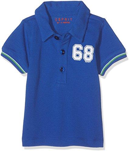 ESPRIT Baby - Jungen T-Shirt RJ11012, Einfarbig, Gr. 74, Blau (BRIGHT BLUE 442)