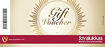 Joyalukkas Gold & Diamond Jewellery Gift Voucher - Rs.2000