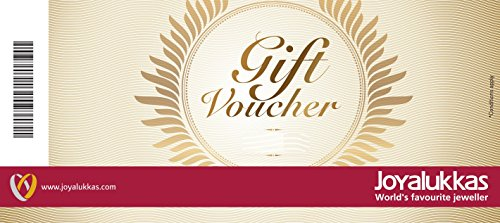 Joyalukkas Gold & Diamond Jewellery Gift Voucher - Rs.3000
