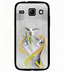 ColourCraft Creative Hand Image Design Back Case Cover for SAMSUNG GALAXY CORE I8262 / I8260