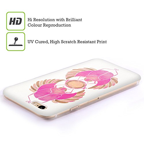Ufficiale Cat Coquillette Nero oro Scorpione Insetti Cover Morbida In Gel Per Apple iPhone 6 Plus / 6s Plus Rosa Oro Scarabeo