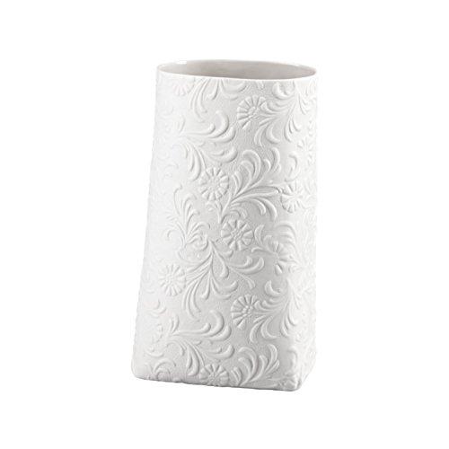 Rosenthal Hutschenreuther Porcelain Bags Vase 22 cm Weiss matt