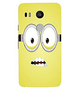 ColourCraft Cartoon Design Back Case Cover for LG GOOGLE NEXUS 5X