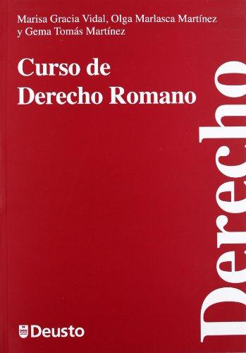 Curso de derecho romano por Marisa García Vidal