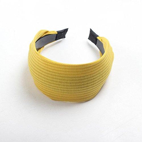 Preisvergleich Produktbild @ XUE @ - Haarnadel breite Seitenband Zahn Anti-Skid Haar Kopfschmuck (Kurkuma)